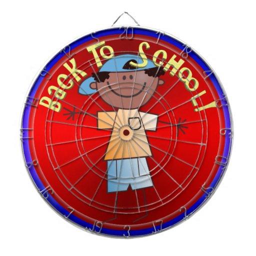 Back To School - Happy Boy (1) Dartboard