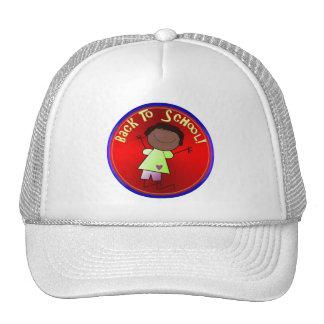 Back To School - Happy Girl (1) Hat