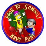 Back To School - Happy Pencil - Have Fun! Photo Cutout