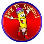 Back To School - Happy Pencil Photo Sculpture