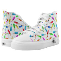 Back To School High-Top Sneakers