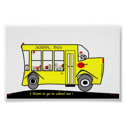 Back to School ,I want to go too ! poster