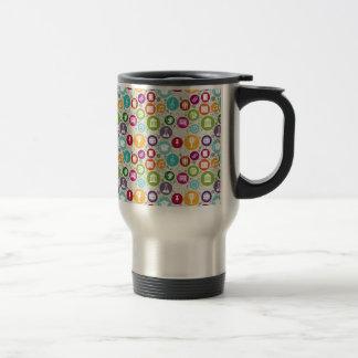 Back to School icon pattern mug