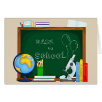 Back to School Illustration Card