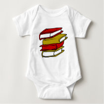 Back to School in style Baby Bodysuit