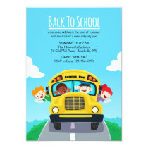 Back To School Invitation