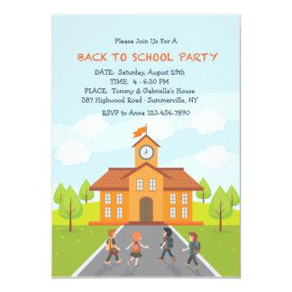 Back To School Invitation
