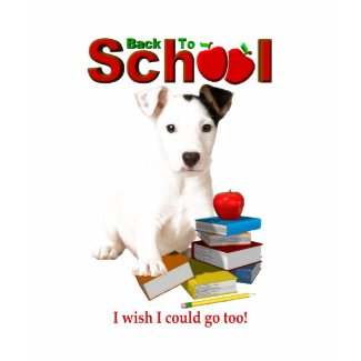 Back To School - Jack Russell Terrier shirt
