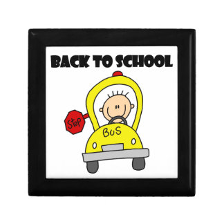 Back to School Jewelry Box