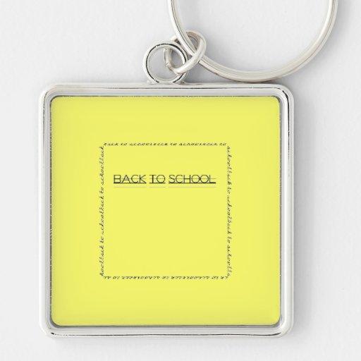 Back to school keychain