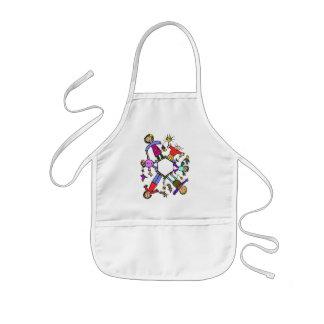 Back to school - kids' apron