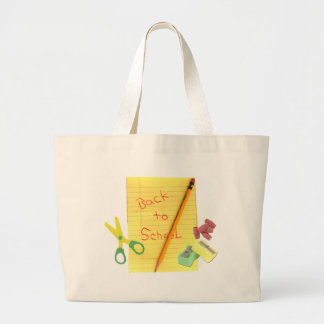 Back-to-School Large Tote Bag