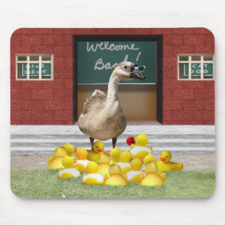 Back To School Little Duckies Mouse Pads