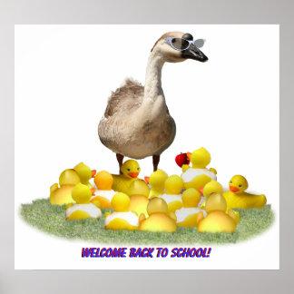 Back To School, Little Duckies! Poster