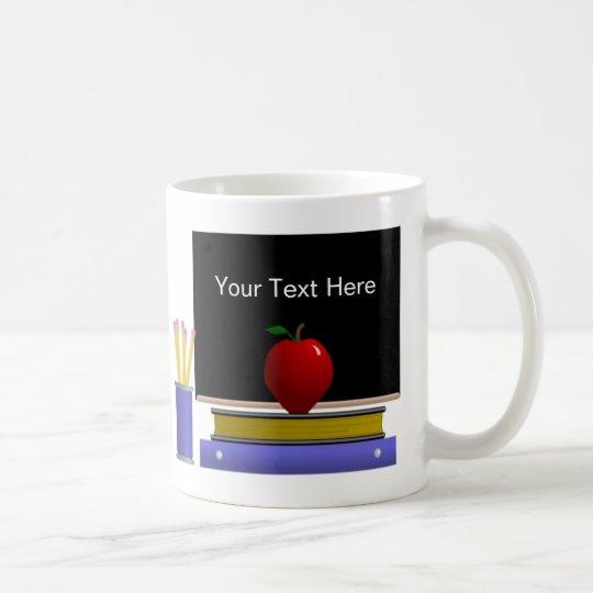 Back To School Mug Template