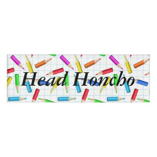 Back To School Name Tag