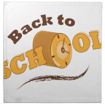 Back To School Napkin