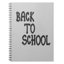 Back to school - notebook