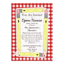 Back To School Open House Invitation