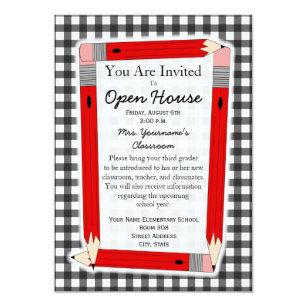 Elementary School Open House Invitations Zazzle
