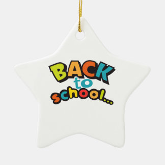 BACK TO SCHOOL CHRISTMAS TREE ORNAMENTS
