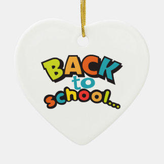 BACK TO SCHOOL CHRISTMAS ORNAMENT