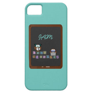 back to school owl iPhone SE/5/5s case
