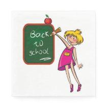 BACK TO SCHOOL PAPER NAPKIN