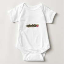 Back to school-pencils baby bodysuit
