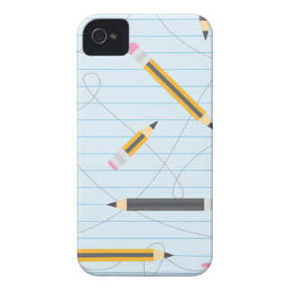 Back to School Pencils iPhone 4 Cover