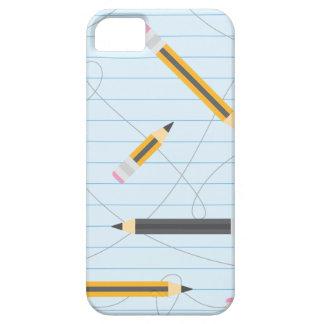 Back to School Pencils iPhone SE/5/5s Case