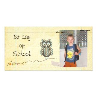 Back to school photocard photo card