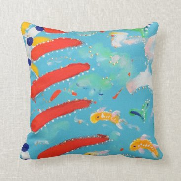 Beach Themed Back to School Pillow