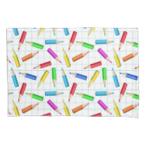 Back To School Pillow Case