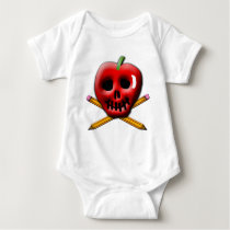 Back to School Pirate Inspired Design Baby Bodysuit
