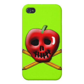 Back to School Pirate Inspired Design Cover For iPhone 4
