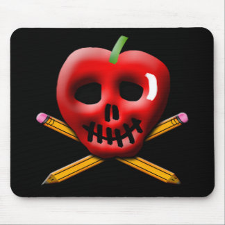 Back to School Pirate Inspired Design Mouse Pad