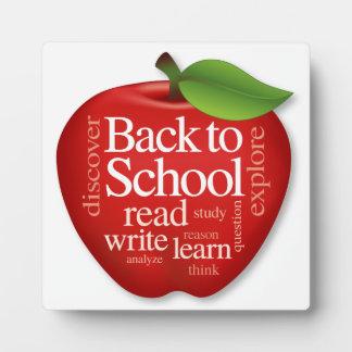 Back to School Plaque