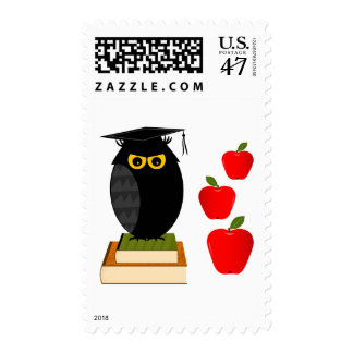 Back to School Postage Stamp