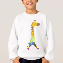 Back to School Professor Giraffe T-Shirt