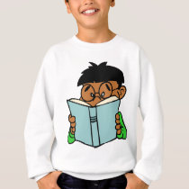 Back to school, reading is fun sweatshirt