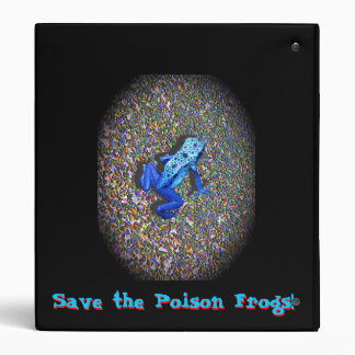 Back to School, Save Poison Frogs! Binder