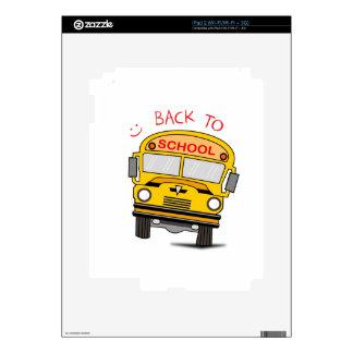 Back to school - school bus skins for iPad 2