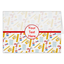 Back to School - School Supplies Card