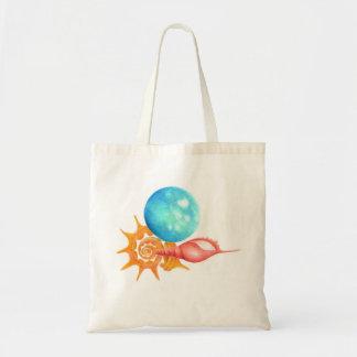 """back to school"" seashell bag"