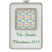 Back To School Silver Plated Framed Ornament