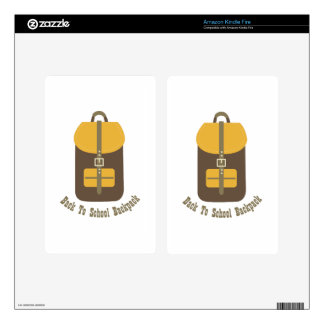 Back To School Decals For Kindle Fire