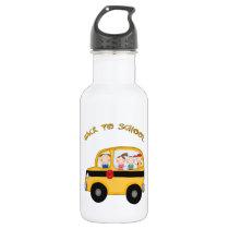 Back To School Stainless Steel Water Bottle