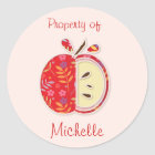 Back to School Stickers (Property of )