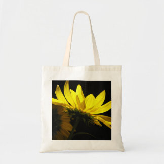 """Back to School"" sunflower bag"